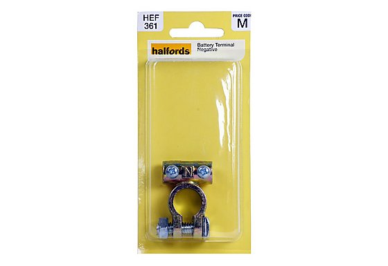 Halfords Battery Terminal Negative (HEF361)