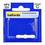 image of Halfords In-line Connector HFX231