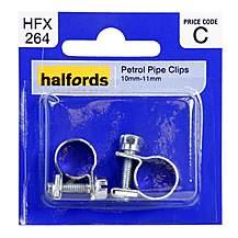 image of Halfords Petrol Clips 10-11mm HFX264
