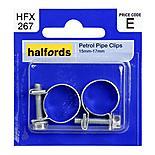 Halfords Petrol Hose Clips 15mm-17mm HFX267