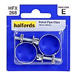 image of Halfords Petrol Pipe Clips HFX 268