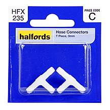 image of Halfords Hose Connectors 3mm T Piece HFX235