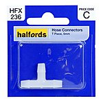 image of Halfords Hose Connector T Piece 5mm HFX236