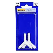 image of Halfords Hose Connector Y Piece 6mm HFX373