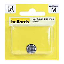 image of Halfords Car Alarm Battery CR1220