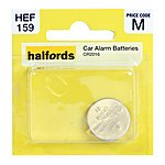 image of Halfords Car Alarm Battery CR2016