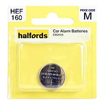 image of Halfords Car Alarm Battery CR2025