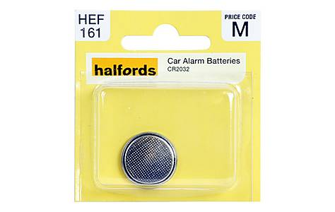 image of Halfords Car Alarm Battery CR2032