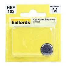 image of Halfords Car Alarm Battery CR1620