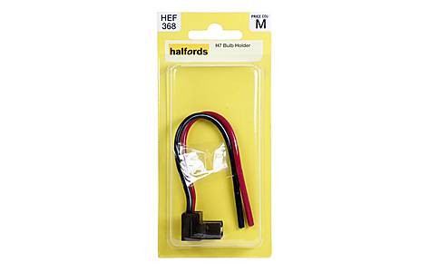 image of Halfords H7 Bulb Holder HEF 368