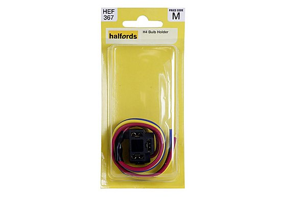 Halfords H4 Bulb Holder HEF367