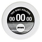 image of Halfords Tax Disc Holder - Silver