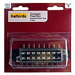 image of Halfords Compact Fusebox Standard 8 Way HFS205