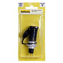 image of Halfords DIN Plug and Socket 16 Amp HEF357