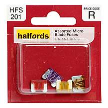 image of Halfords Assorted Micro Blade Fuses