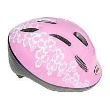 image of Bell Jumpstart Bike Helmet - Pink Flowers (48-54cm)