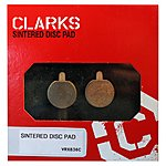 image of Clarks ASP Zoom Organic Disc Brake Pads VX836C