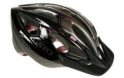 image of Giro Skyline Bike Helmet - Black and Pink (54-61cm)