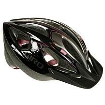 image of Giro Skyline Bike Helmet - Black and Pink (54-61cm)