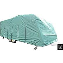 image of OLPRO Caravan Cover Green - Fits 6.8 to 7.4M