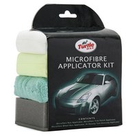 Turtle Wax Microfibre Applicator Pack