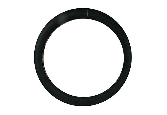 Halfords Plush Steering Wheel Cover - Black