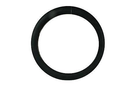 image of Halfords Plush Steering Wheel Cover - Black