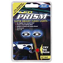 image of Prism Super Bright Interior Car Lights - Blue