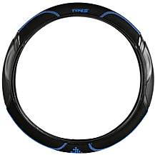 image of Type S Tech Spec Steering Wheel Cover - Blue