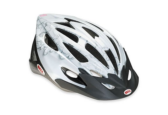 Bell Vela Bike Helmet - White Flowers (50-57cm)