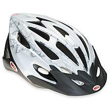 image of Bell Vela Bike Helmet - White Flowers (50-57cm)