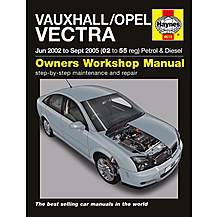 image of Haynes Vauxhall Vectra (June 02 to Sept 05) Manual