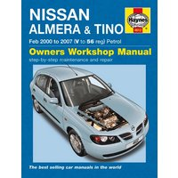 Haynes Nissan Almera & Tino (Feb 00 - 07) Manual