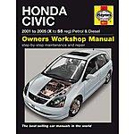 image of Haynes Honda Civic (01-05) Manual