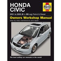 Haynes Honda Civic (01-05) Manual
