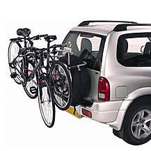 image of Halfords 4x4 Spare Wheel Cycle Carrier