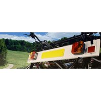 Halfords Cycle Carrier Lighting Board