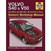 image of Haynes Volvo S40 & V50 (Mar 04 - Jun 07) Manual