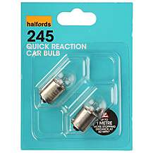 image of Halfords (HBU245QR) 10W Quick Response Car Bulbs x 2