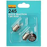 Halfords (HBU245QR) 10W Quick Response Car Bulbs x 2