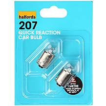 image of Halfords 207 R5W Quick Reaction Car Bulbs x 2