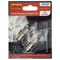Halfords (HBU380QR) 21W Quick Response Car Bulbs x 2
