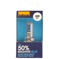 Halfords Super Brilliant Blue (HBU448SBB) Car Bulb x 1