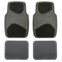 Halfords Carpet/Rubber Car Mats - Black