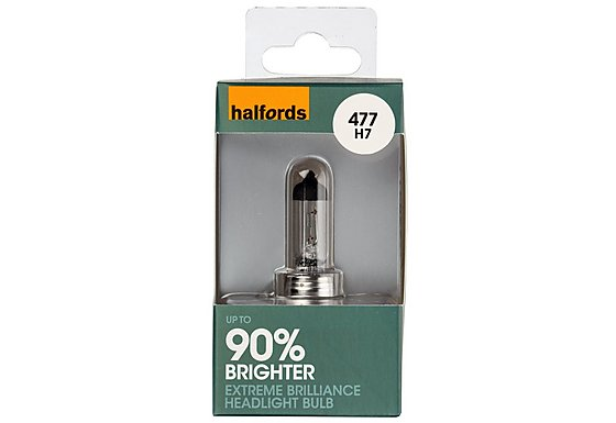 Halfords Extreme Brilliance (HBU477EB) H7 Car Bulb x 1