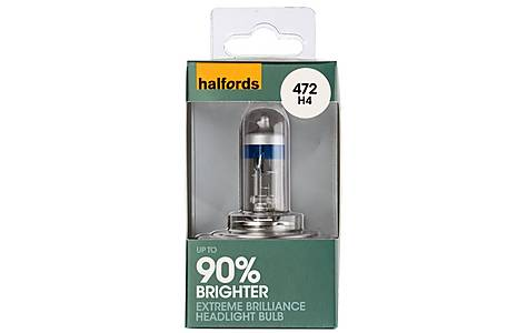 image of Halfords Extreme Brilliance (HBU472EB) H4 Car Bulb x 1