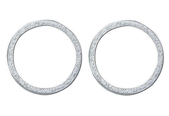 GTmoto Motorcycle 3D Aluminium Tax Disc Holder - 2 pk