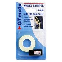 GTmoto 7mm Reflective Wheel Stripe - Yellow