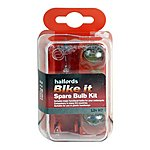 image of Halfords Bike it Motorcycle Spare Bulb Kit 12v H7