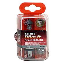 image of Halfords Bike it Motorcycle Spare Bulb Kit 12v H4